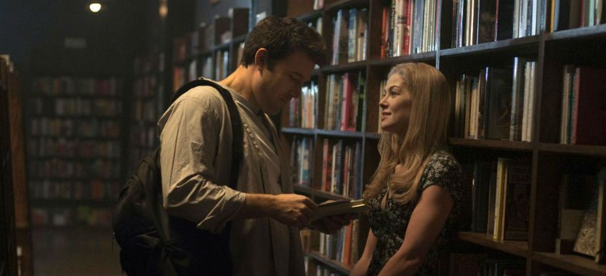 An image of Amy and Nick from David Fincher's adaptation of Gone Girl
